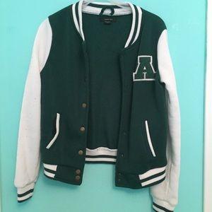Green Varsity Jacket
